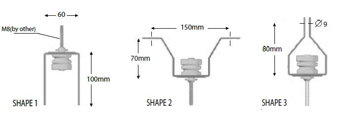 Vibro-CH mini shapes