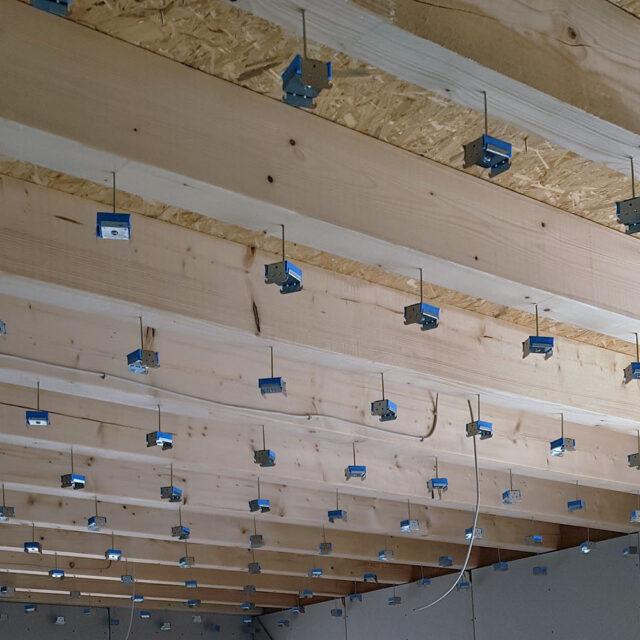 ceiling vibration control insulation