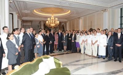 Installations – Four season hotel in Baku Azerbaijan 3
