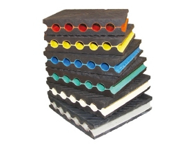 Vibration isolation elastic pad Αντικραδασμικά Ηχομονώσεις Ηχοπροστασία ALPHA ACOUSTIKI