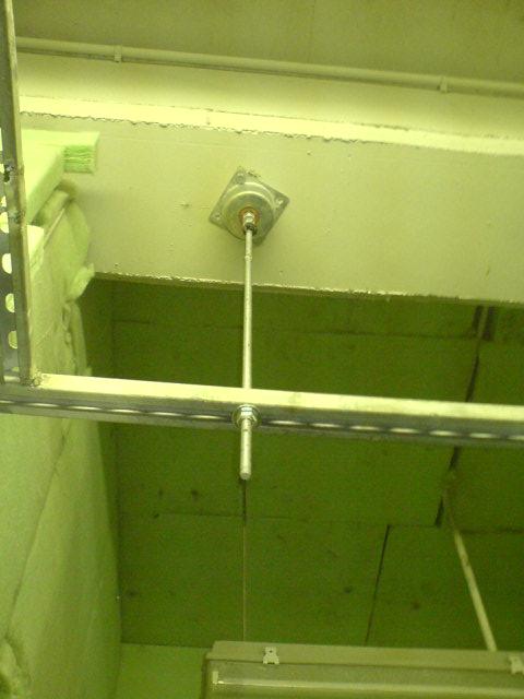 Vibration hanging for mechanical application