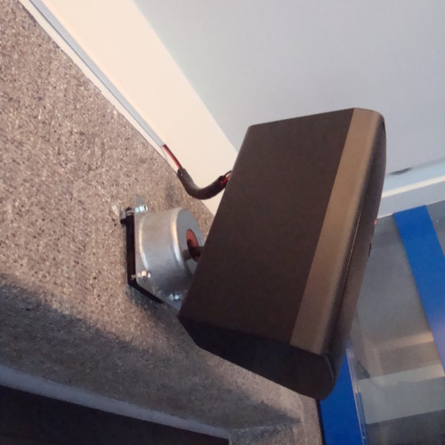 speaker vibration control