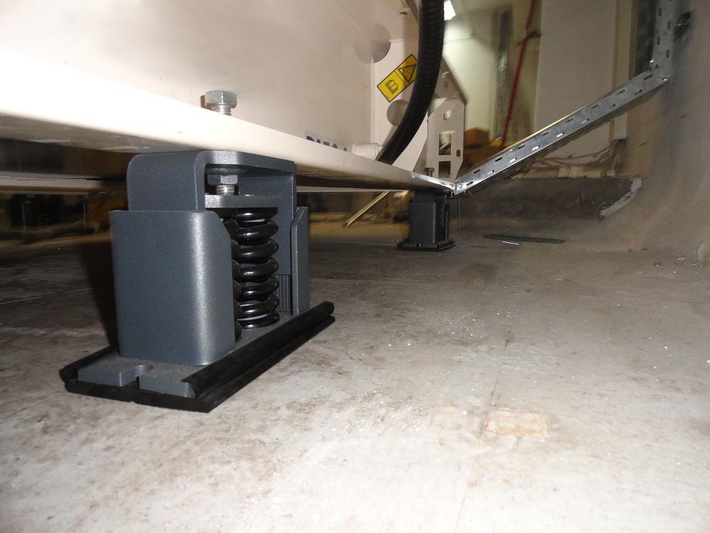 Antivibration isolator application