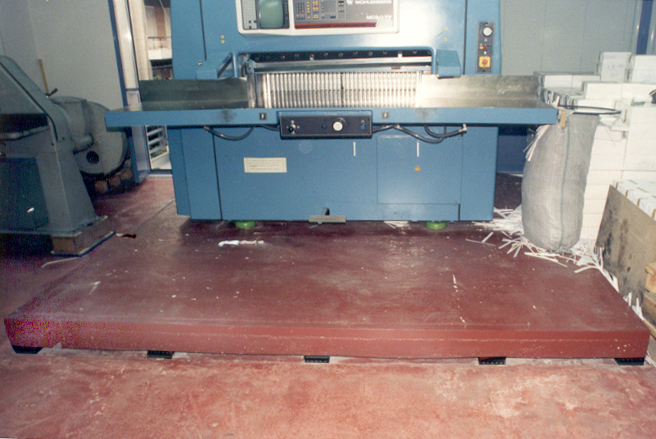 Vibro Ep Floating Floors Supports For Vibration Control