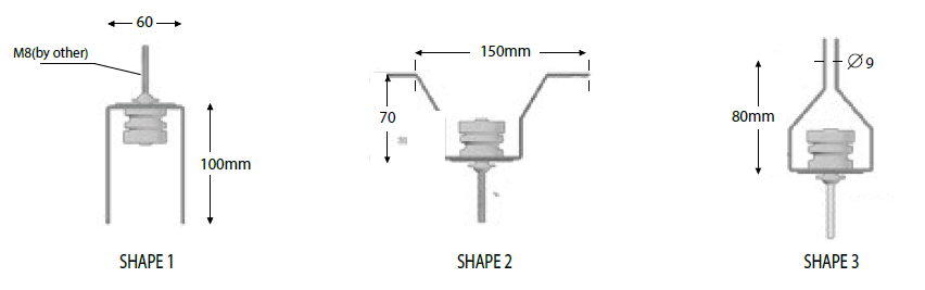Vibro.SiL-CH mini shapes