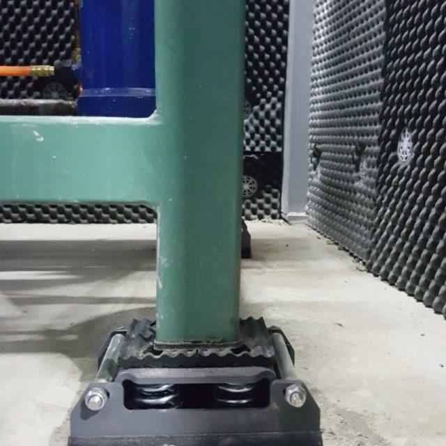 VIBRO MSR Restrained Spring isolators