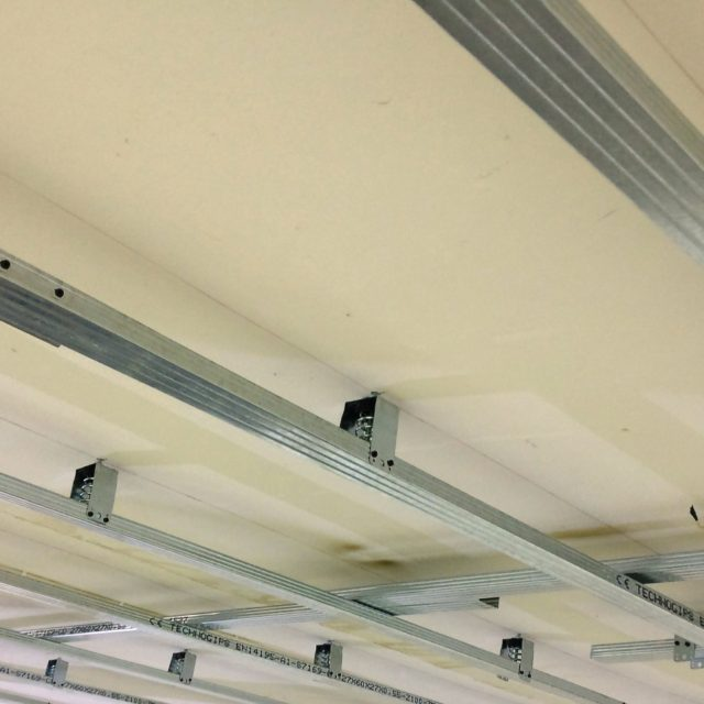 spring ceiling hangers for vibration isolation